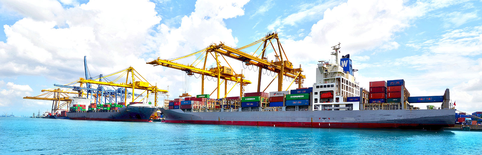 Well Equipped Container Terminal