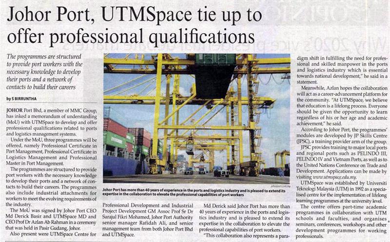 Johor Port, Petronas LNG Sediakan Khidmat Marin